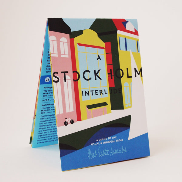 A Stockholm Interlude Travel Guide - front cover