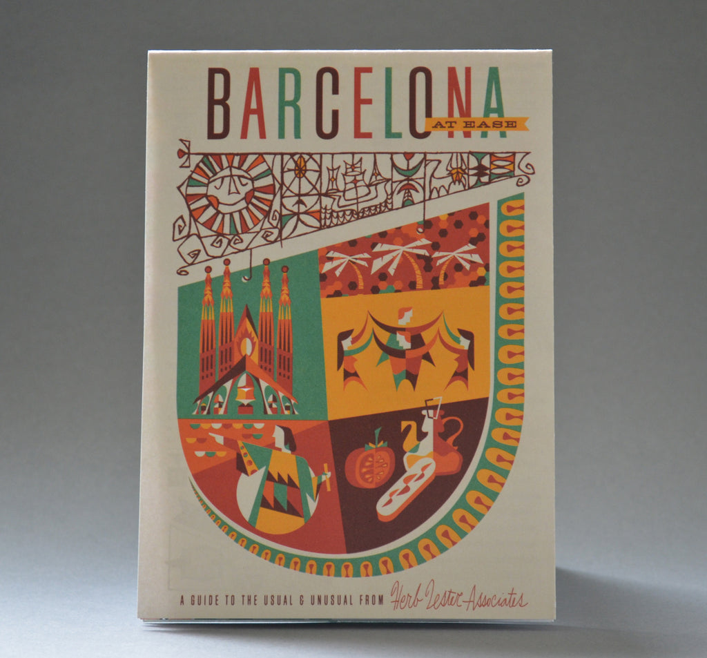 Barcelona At Ease Travel Guide - Front Cover
