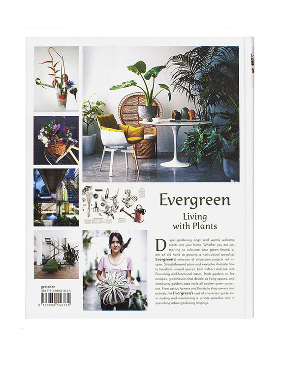 Evergreen. Living with Plants - Book Back Cover