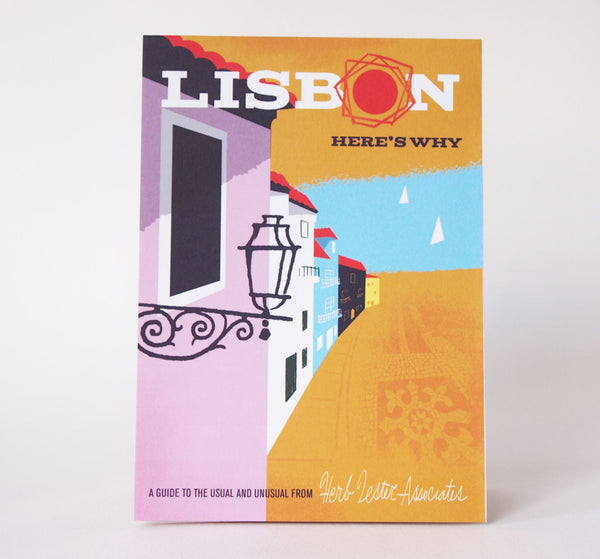 Lisbon: Here's Why Travel Guide - Cover