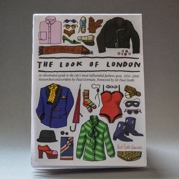 The Look Of London Travel Guide - front cover