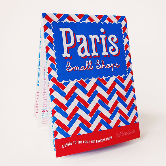 Paris: Small Shops Travel Guide - front cover