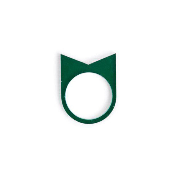 Ring acrylate No.22 Dark Green by Oform