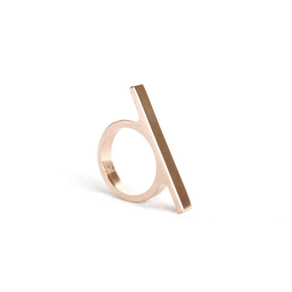 Ring No.21 Rose Gold