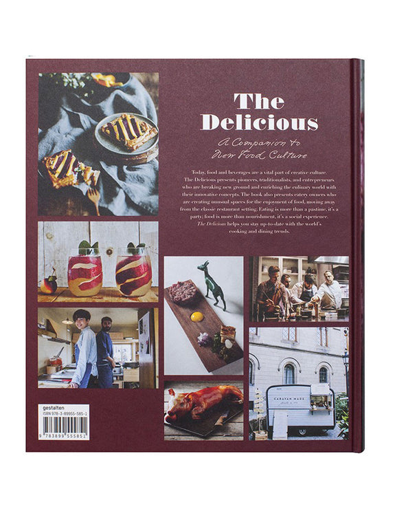 The Delicious - A Companion to New Food Culture - back Cover