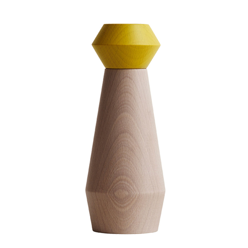 yellow salt & pepper grinder