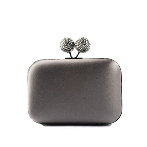 Chic Gray Clutch