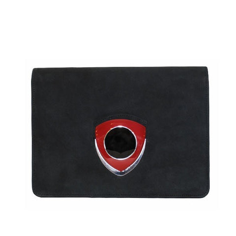 Black Square Clutch