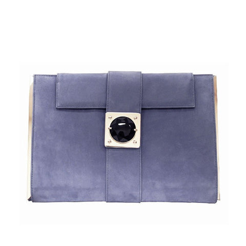 Lavender Envelope Clutch