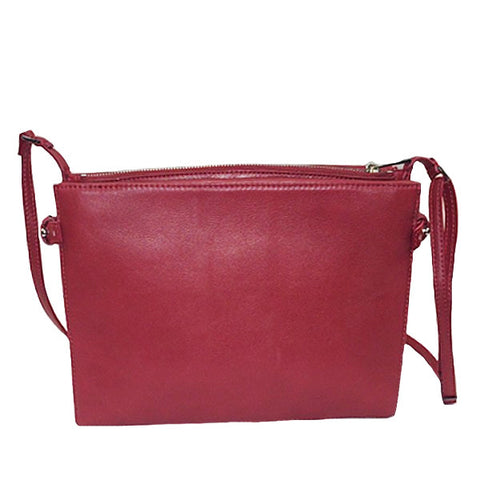 Leather Crossbody- Also Available in Red