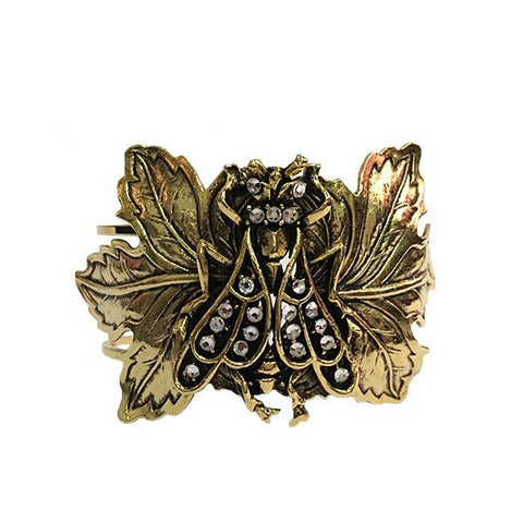 Antique Insect Cuff