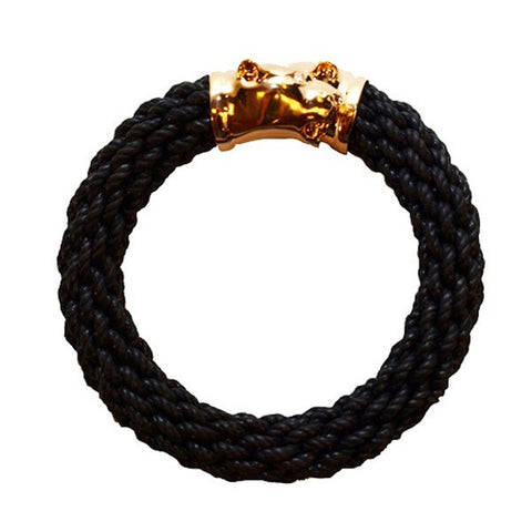 Gold Woven Panther Bracelet