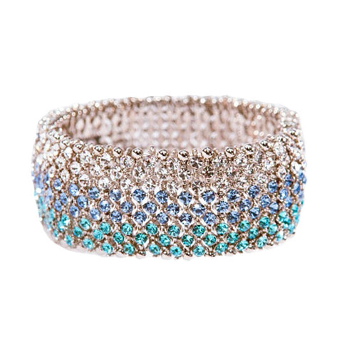 Nine Row Swarovski Bracelet