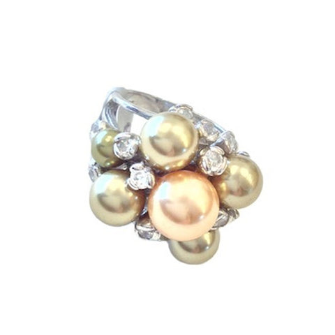 Pearl Bunch Ring