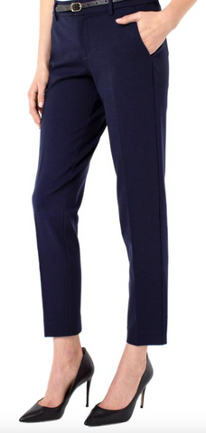 Kelsey Knit Trouser (Navy)