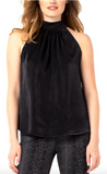 Sleeveless Black Tank Top