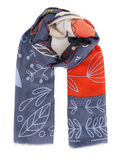 Fox and Hare Print Scarf