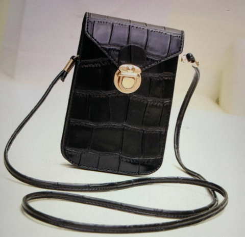 Phone Cross body (Available in Black and Silver)