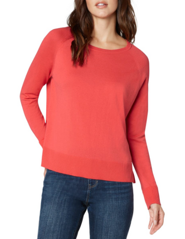 Coral Crewneck Sweater
