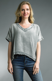 Relaxed Cotton Tops