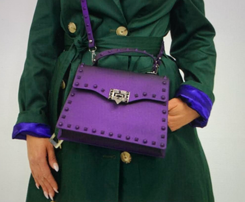 Cross Body (Available in Purple, Blue, Green or Pink)