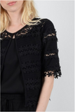 Macrame Jacket - Black