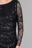 Graphic Dress- Black