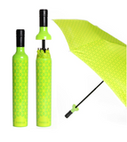 Botanical Green Bottle Umbrella