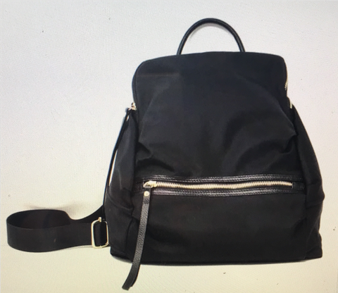 Enzi Backpack (Available in Black or Sand)