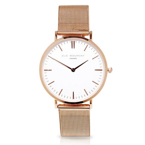 Oxford Large Mesh - Rose Gold