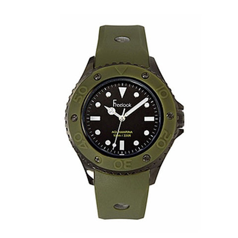Olive Aquamarina Watch