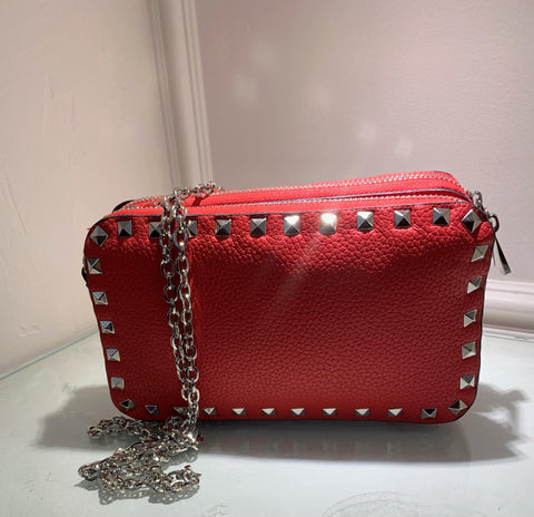 Red Cross Body with Silver Accent Pieces