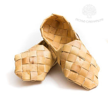 "Traditional ""Lapti"" bast shoes"