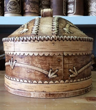 Birch bark container