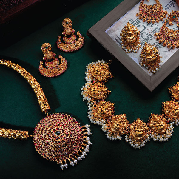 Antique and Temple Jewellery for the modern-day woman