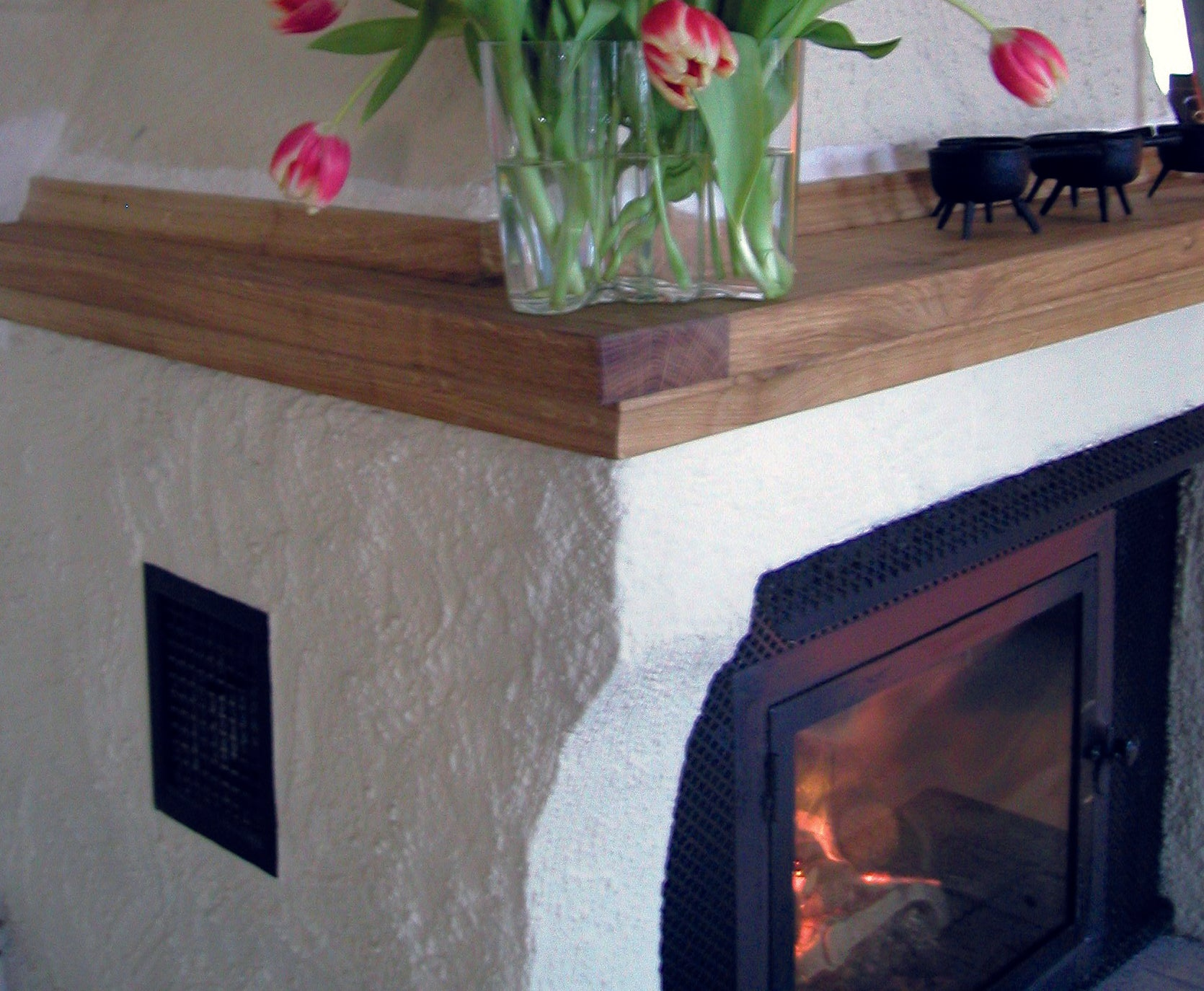 Heat resistant and fire safe Allback Linus Wall Paint for around fireplaces.
