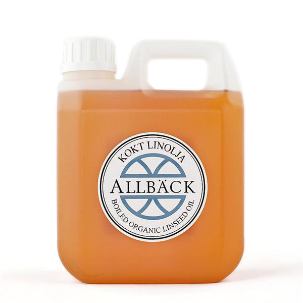 Allbäck Boiled Linseed Oil, 1 L