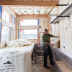 Havelock Wool insulation batts are easy to install into standard framing and without the need for protection.