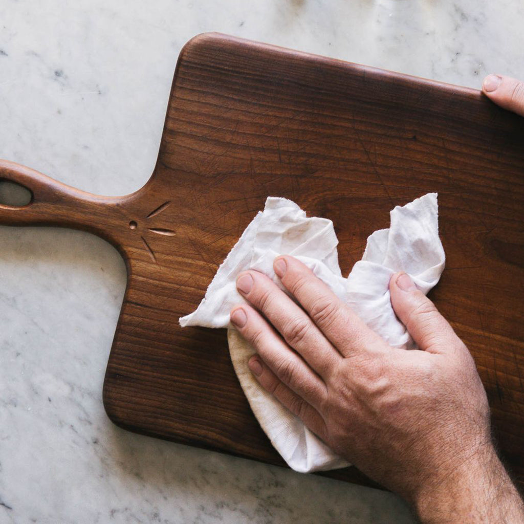 Hemp Oil Wood Finish is safe for food surfaces, such as wooden cutting boards and utensils.