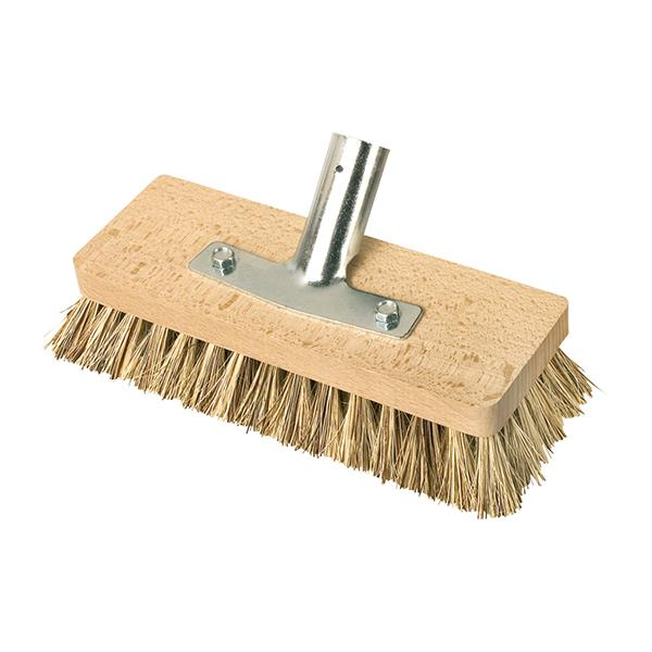 Redecker Deck Brush with Handle