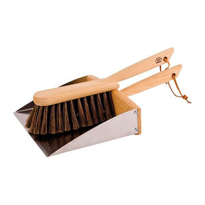 Redecker Hand Brush + Dustpan Set
