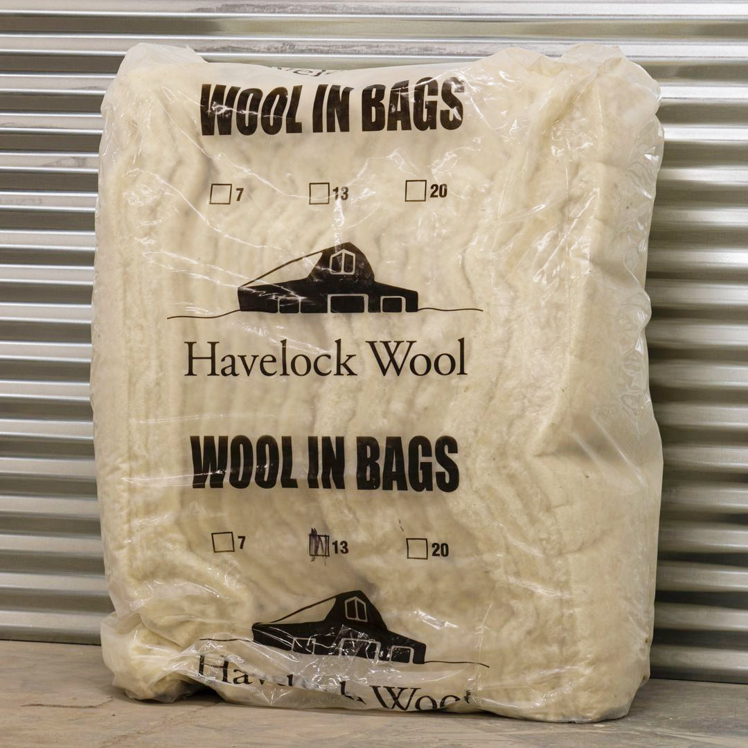 Havelock Wool insulation batts, R-13.