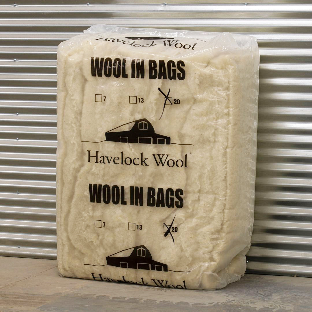 Havelock Wool insulation batts, R-20.