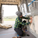 Havelock wool insulation for vans is just the right thickness for insulating your cargo van conversion, motorhome, mobile home, or trailer.
