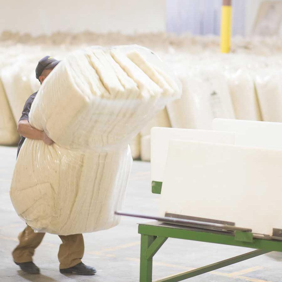Havelock Wool insulation is made in the USA from high-quality New Zealand wool. It is safe for people and planet.