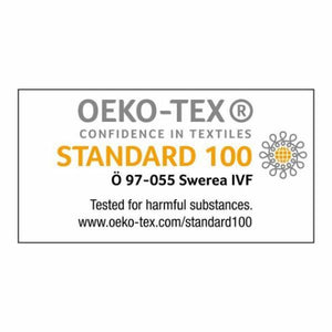 The Swedish Craftsman Shirt is made from material that is tested and certified by OEKO-TEX against the use of harmful chemicals.