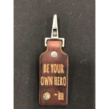 Be Your Own Hero Signature Keychain - HidingHilda, LLC