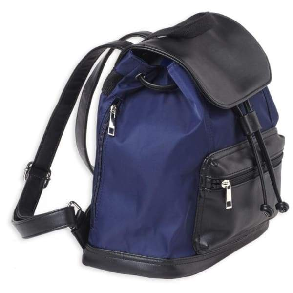 Conceal Carry Navy Lockable Backpack by Bulldog - Hiding Hilda, LLC