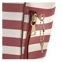 Cute Striped Lockable Concealed Carry Tote by Bulldog - HidingHilda, LLC