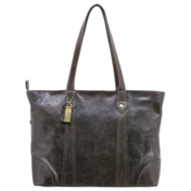 Gaia Concealed Carry Leather Tote - HidingHilda, LLC